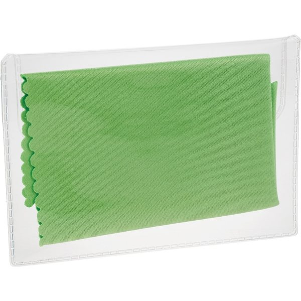 Microfiber Screen Cleaning Cloth Promotional: Microfiber Cleaning Cloth In Case