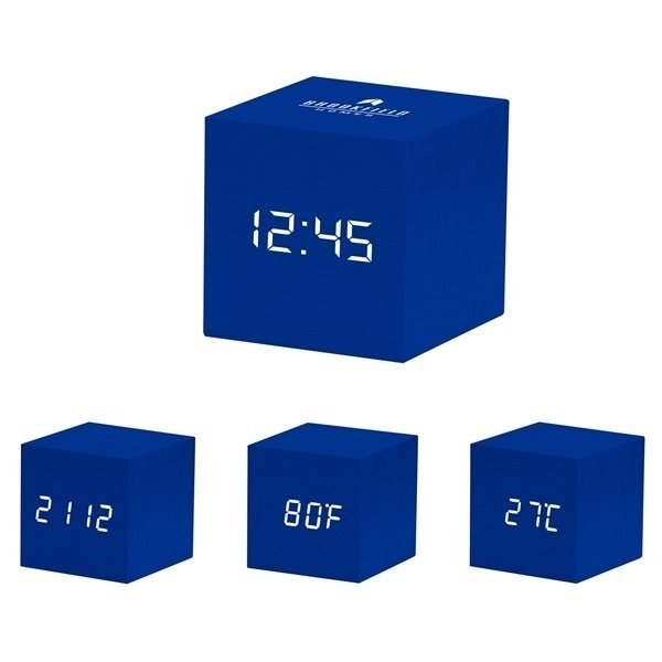 Promotional Moma Color Cube Clock