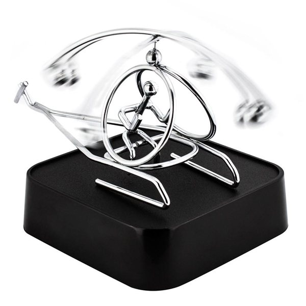 Promotional Helicopter Magnetic Sculpture Block
