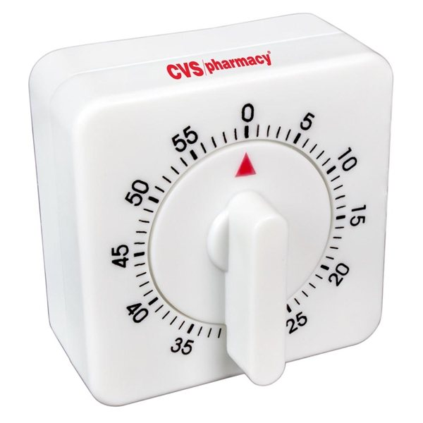 Promotional 60 Minute Kitchen Timer - Square