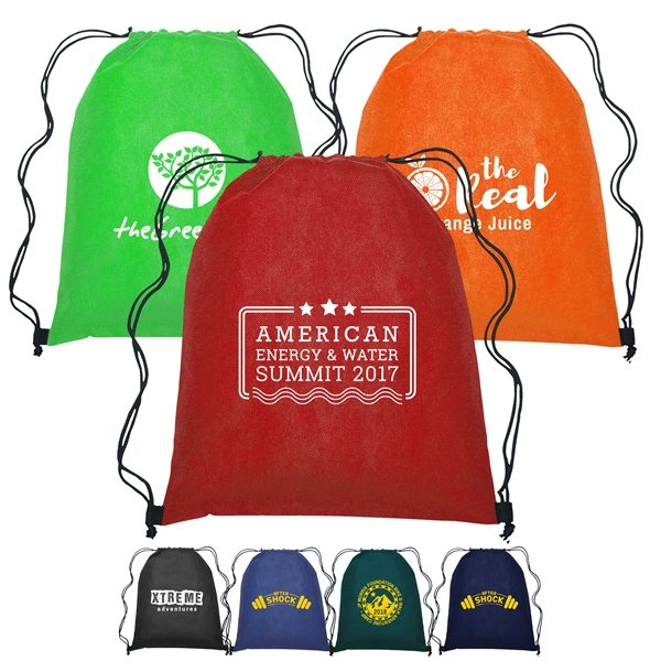 Promotional Gateway - Non - Woven Drawstring Backpack