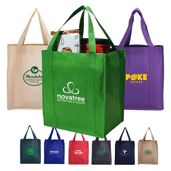 Promotional North Park - Non - Woven Shopping Tote Bag