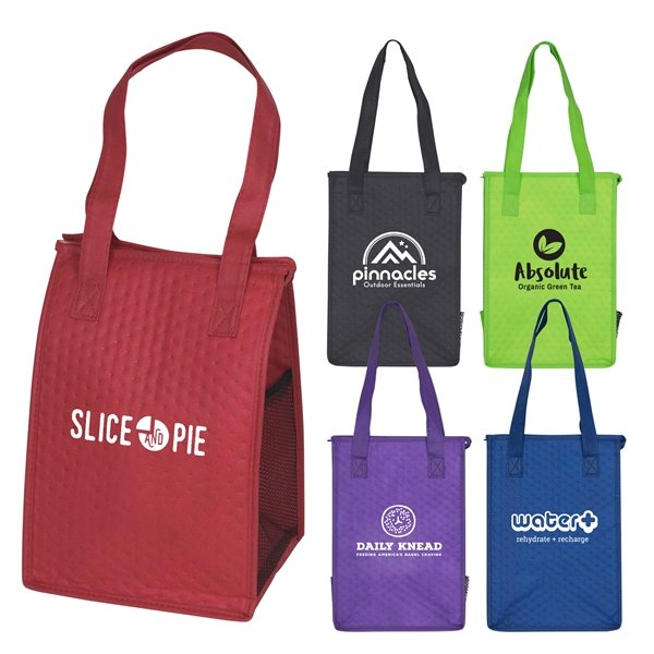 Promotional Cross Country - Non - Woven Insulated Lunch Tote Bag