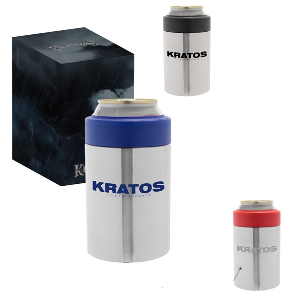 Promotional Kratos Double Wall Stainless Can Cooler