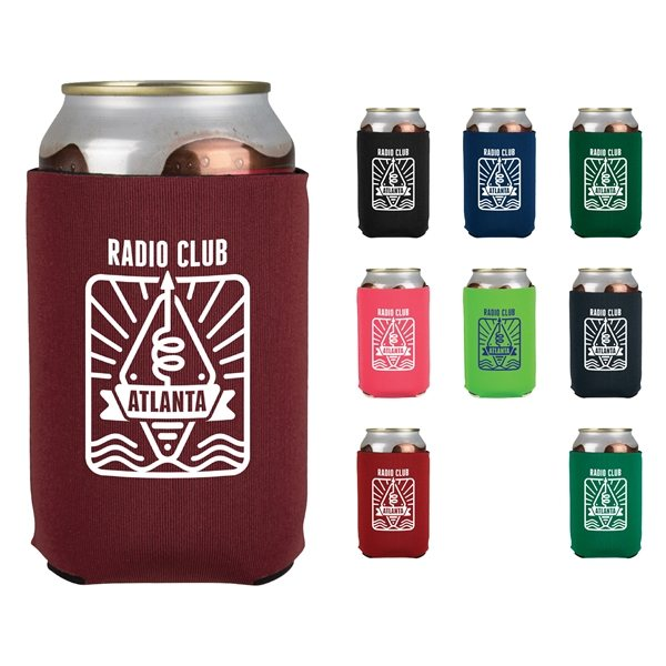 Promotional Neoprene Can Holder - 2 Sided