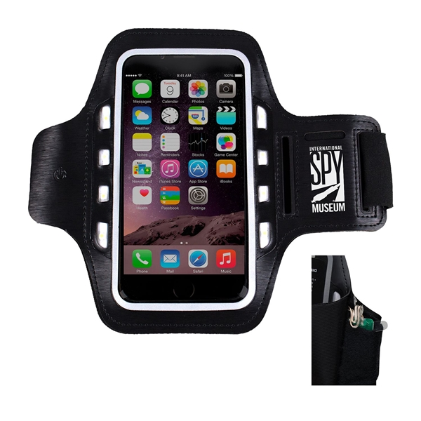 Promotional Light Up Mobile Phone Armband