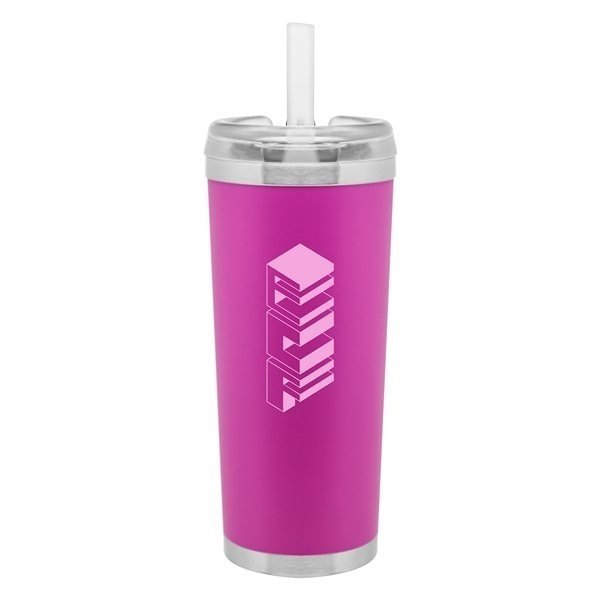 Promotional 24 oz brooklyn - Matte Pink