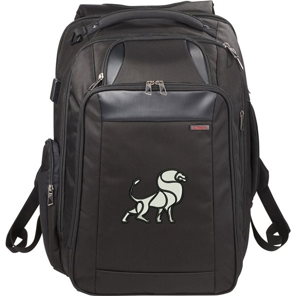 Promotional elleven(TM) Stow TSA 17 Computer Backpack