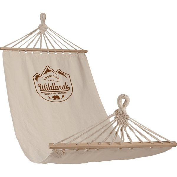 Promotional Natural Hammock