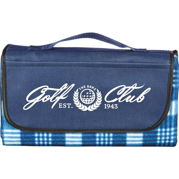 Promotional Picnic Blanket with Removable Stakes