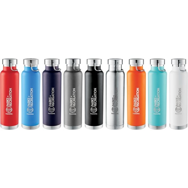 Promotional Thor Copper Vacuum Insulated Bottle 22 oz