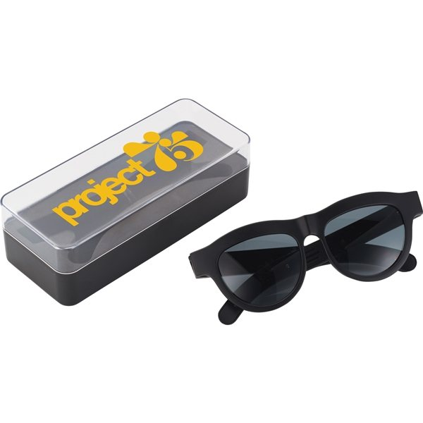 Promotional Sunglasses with Bluetooth Speaker