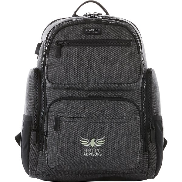 Promotional Kenneth Cole(R) Double Pocket 15 Computer Backpack
