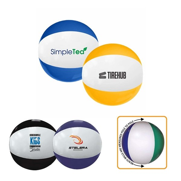 Promotional Two - Toned Beach Balls