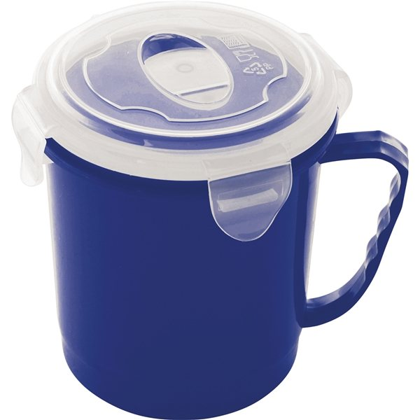 Promotional Soup to Go Mug with Vented Lid