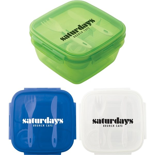Promotional Salad To Go Container
