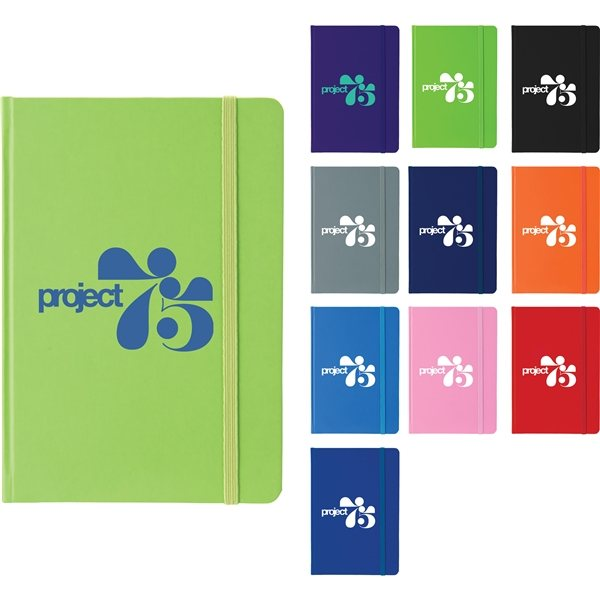 Promotional 5 x 7 Large Rainbow Notebook