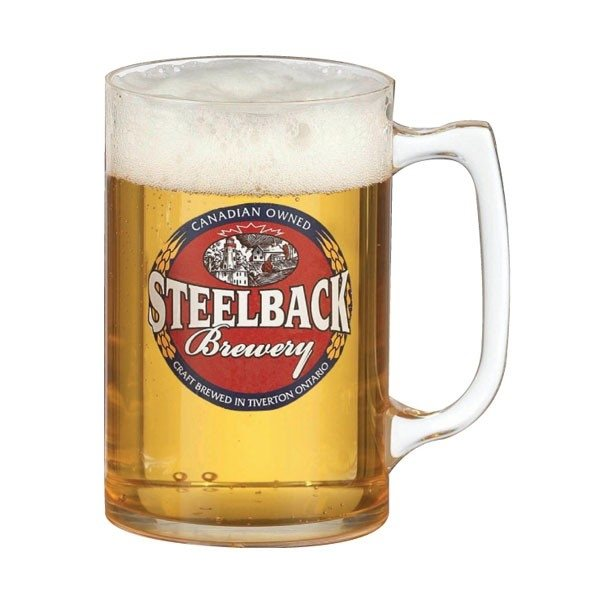Promotional 16-18 oz Smooth Wall Plastic Stein