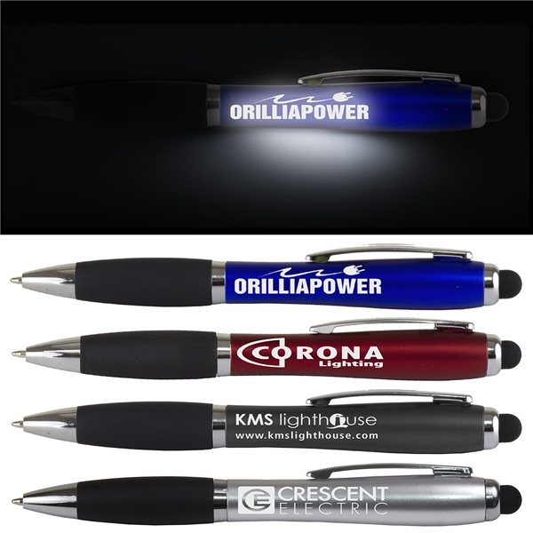 Promotional The Corona Laser Light Up Stylus Pen