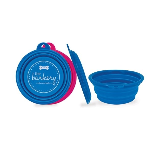 Promotional Collapsible Silicone Pet Bowl