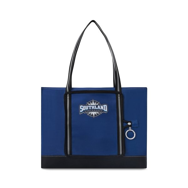 Promotional Everyday Packaway Tote - Royal Blue
