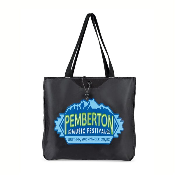 Promotional Express Packable Tote - Black