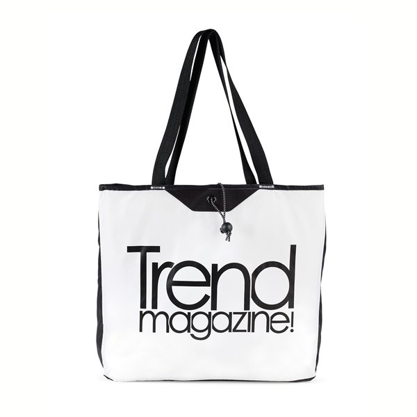 Promotional Express Packable Tote - White