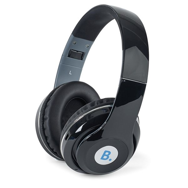 Promotional Hype Bluetooth(R) Headphones - Black