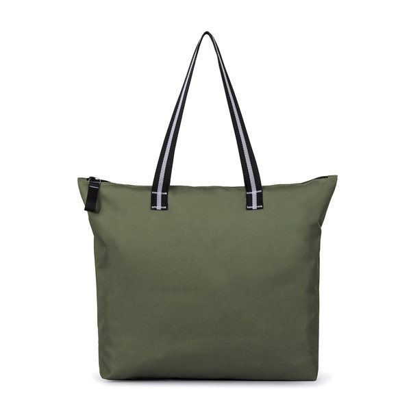 12f6cebdb Main Street Jumbo Tote - Deep Forest Green - Customized Tote Bags