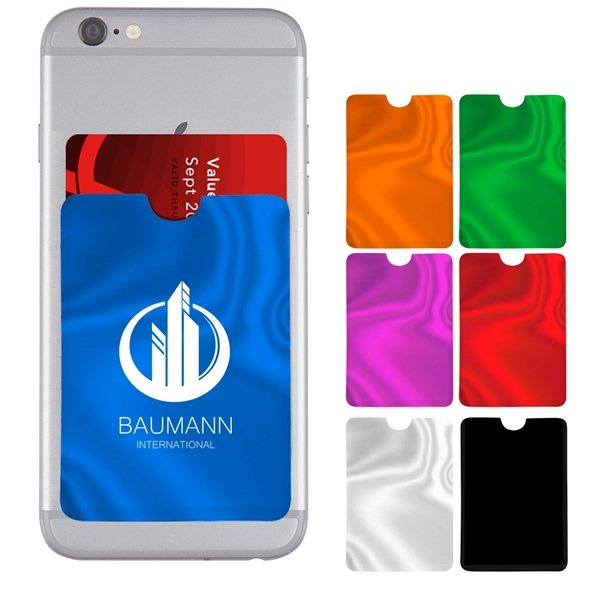 Promotional Wallet RFID Data Blocking Phone Card Sleeve