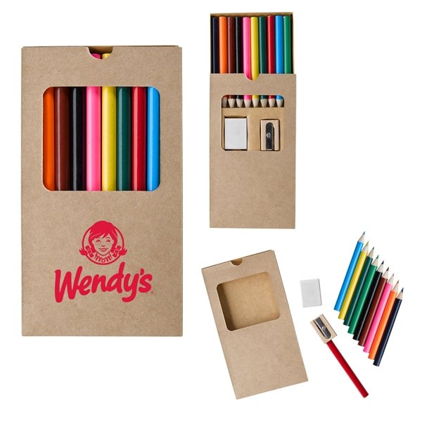 Promotional 12- Piece Drawing Set