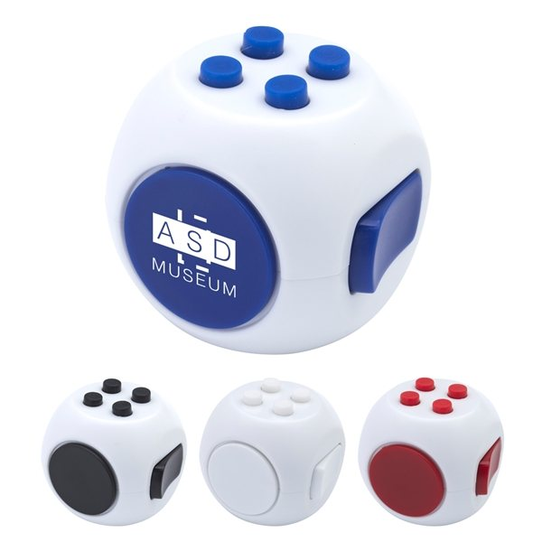 Promotional Spinning Fun Cube