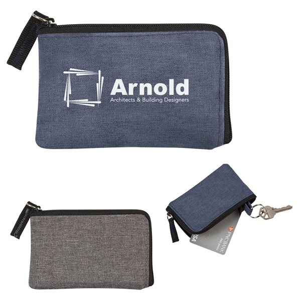 Promotional RFID Data Blocking Fabric Card Holder