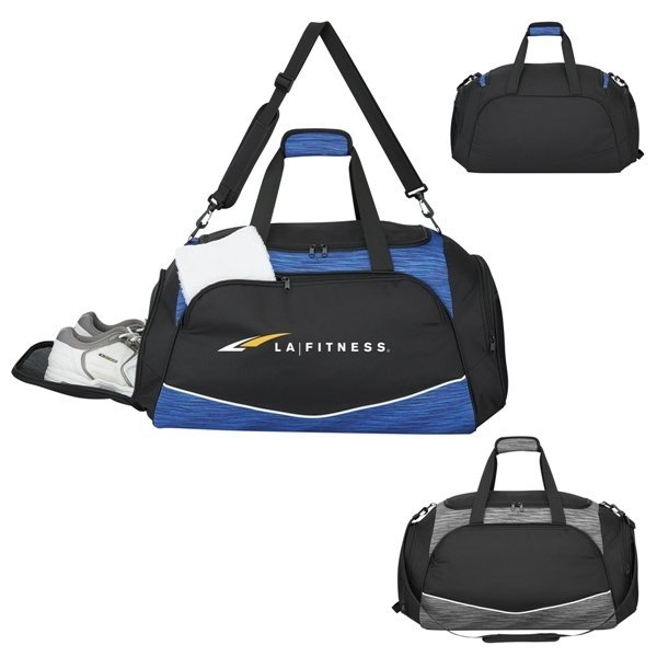 Promotional Deluxe Athletic Duffel Bag