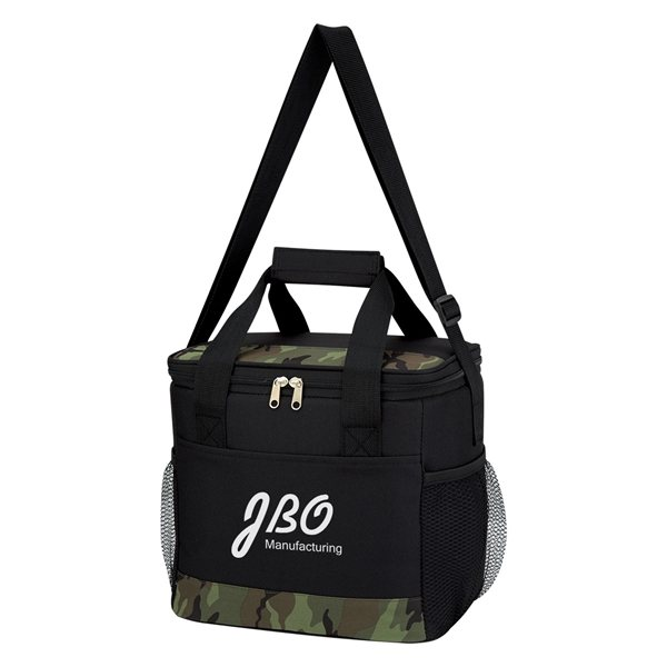 Promotional Camouflage Accent Cooler Bag