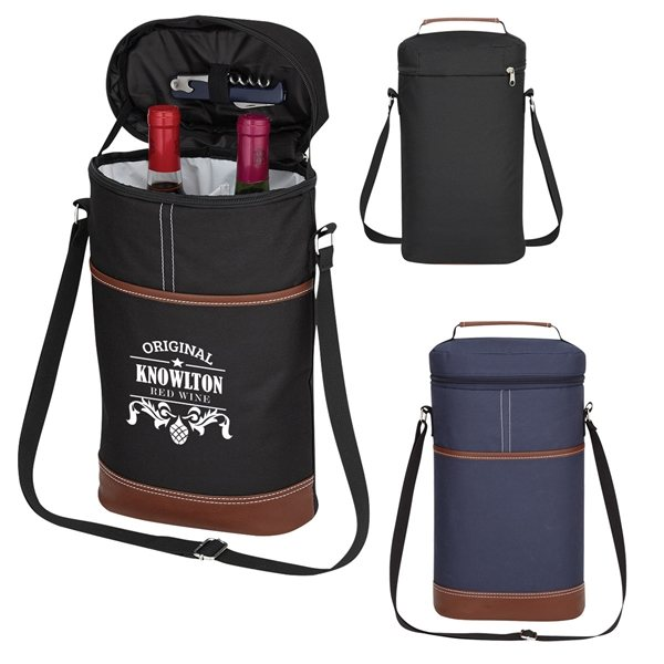 Promotional Double Wine Cooler Bag