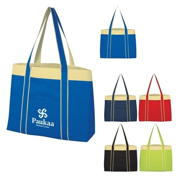 Promotional 600D Polyester PeoriaTote Bag