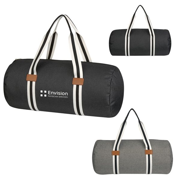 Promotional Capetown Heathered Duffel Bag