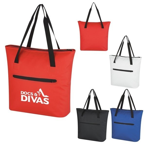 Promotional Water - Resistant Tote Bag