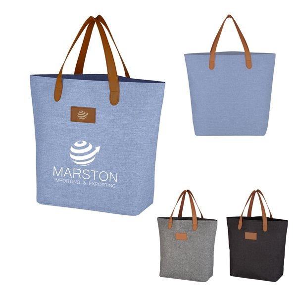 Promotional Heathered Tote Bag