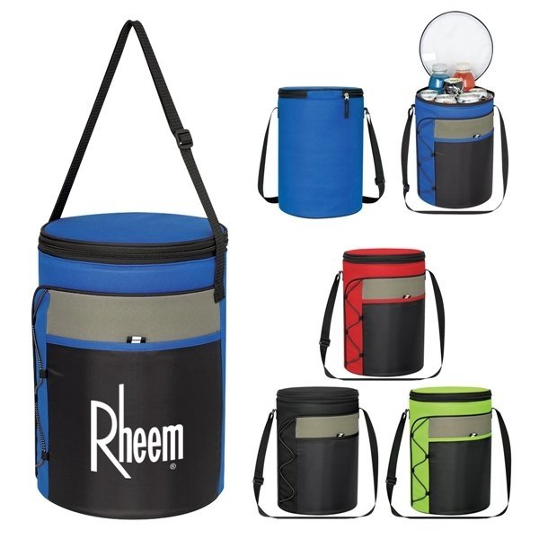 Promotional Cylindrical Insulated Cooler Bag
