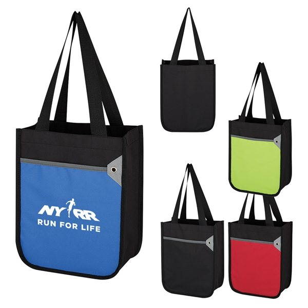 Promotional 600D Polyester Mini Tote Bag