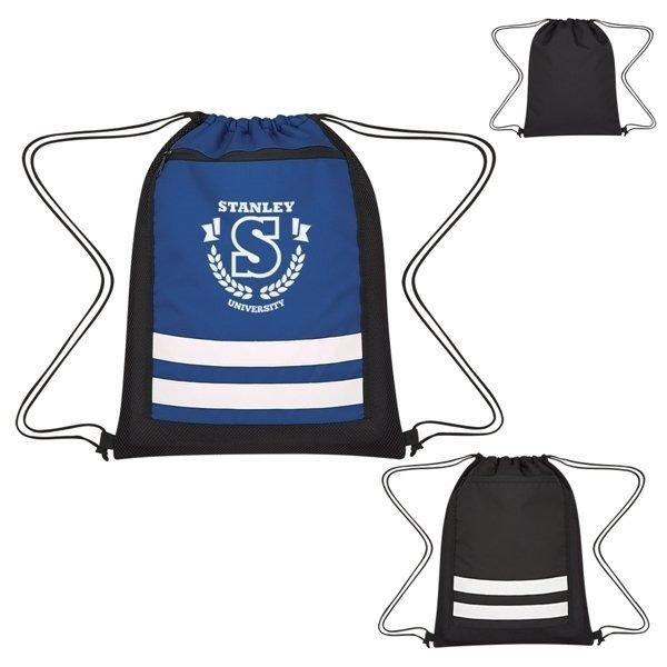 Promotional Racer Drawstring Sports Pack