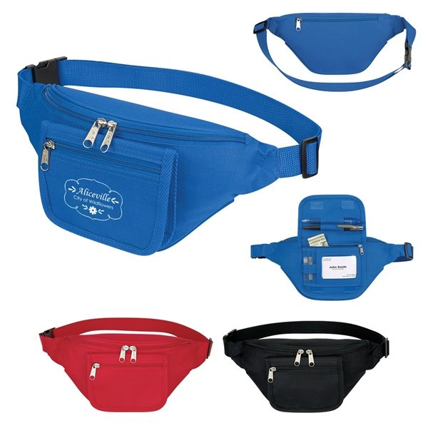 Promotional Fanny Pack With Organizer