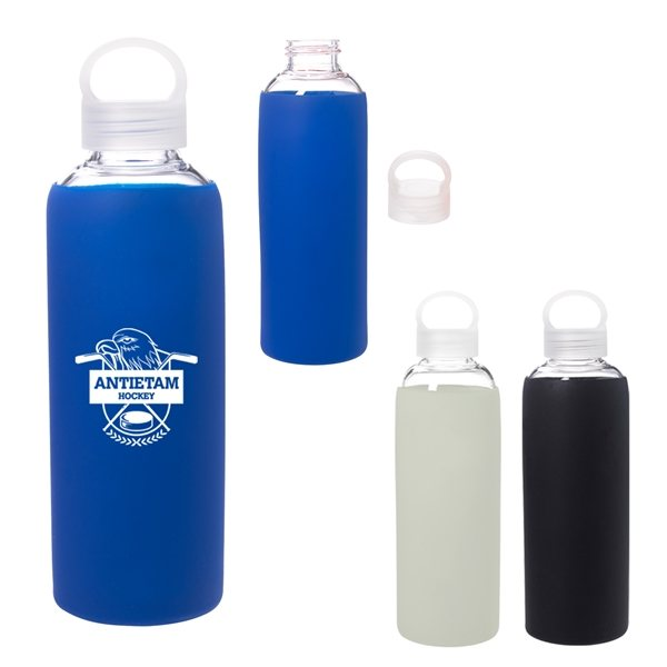 Promotional 18 oz Dartmouth Glass Bottle