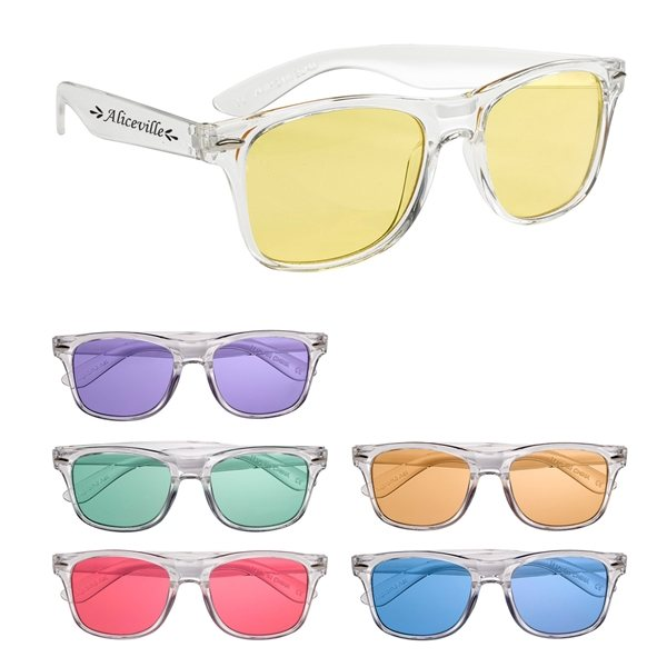 Promotional Crystalline Malibu Sunglasses