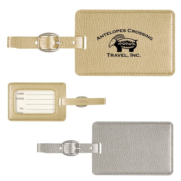 Promotional Metallic Luggage Tag