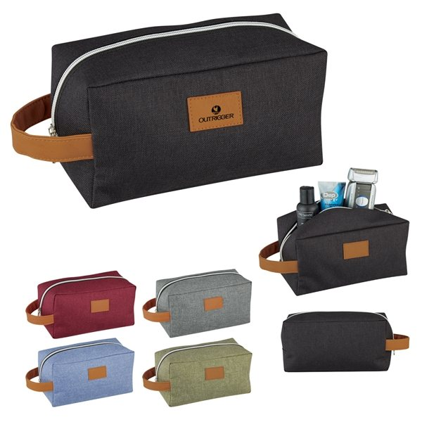 Promotional Heathered Toiletry Bag