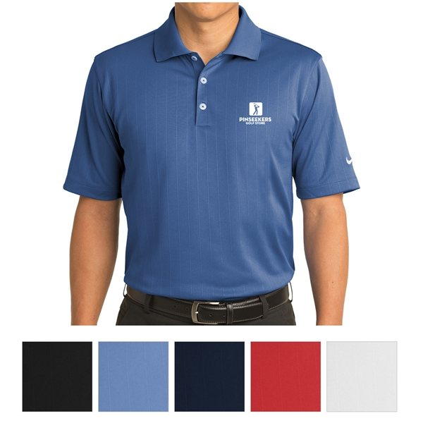 Promotional Nike Golf Dri - FIT Textured Polo