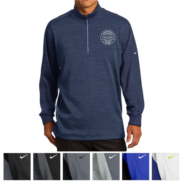 Promotional Nike Golf Dri - FIT 1/2- Zip Cover - Up